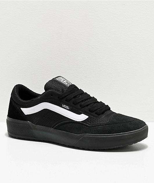 Vans A.V.E. Pro Black & White Skate Shoes