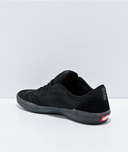 Vans A.V.E. Pro Black Smoke Skate Shoes