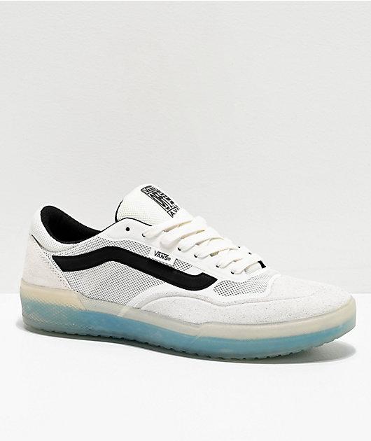 Vans A.V.E. Pro Blanc De Blanc White & Black Skate Shoes