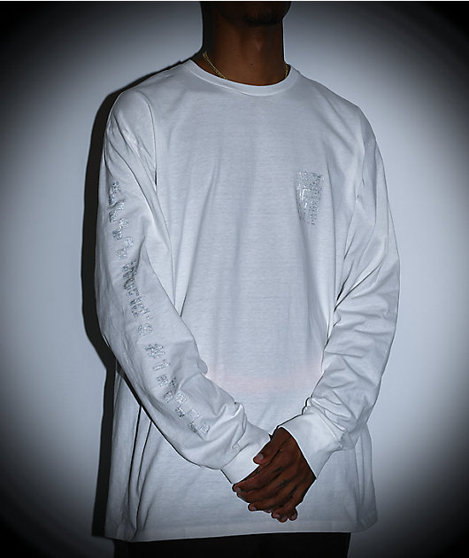 Vans A.V.E. White Long Sleeve T-Shirt