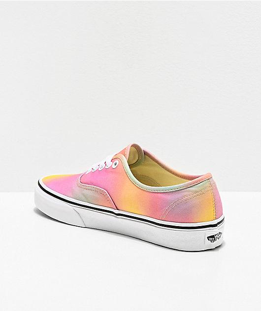 Vans Authentic Aura Shift & True White Skate Shoes