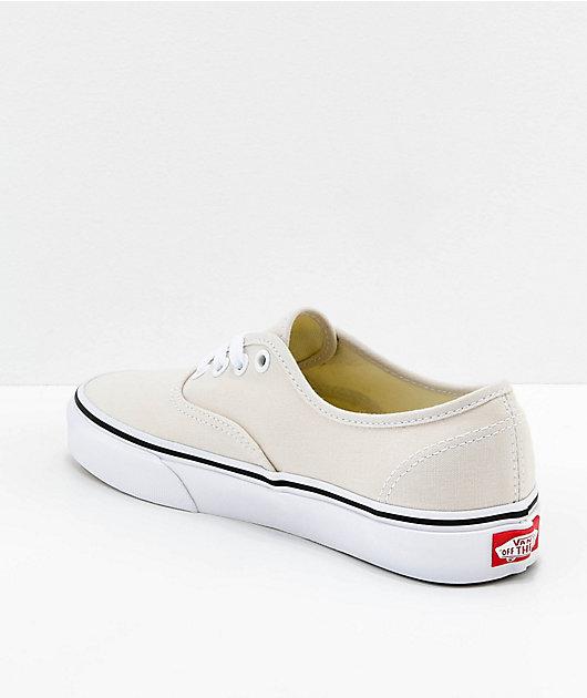 Vans Authentic Birch \u0026 White Skate
