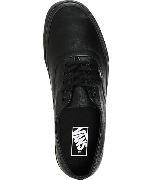Vans Authentic Decon Leather Skate Shoes