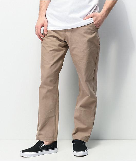 Vans Authentic Glide Pro Dark Khaki Chino Pants
