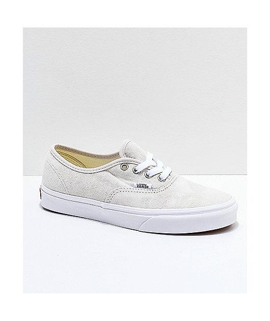True White Pig Suede Skate Shoes | Zumiez