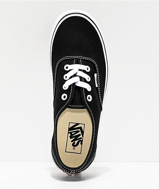 Vans Authentic zapatos de skate negros