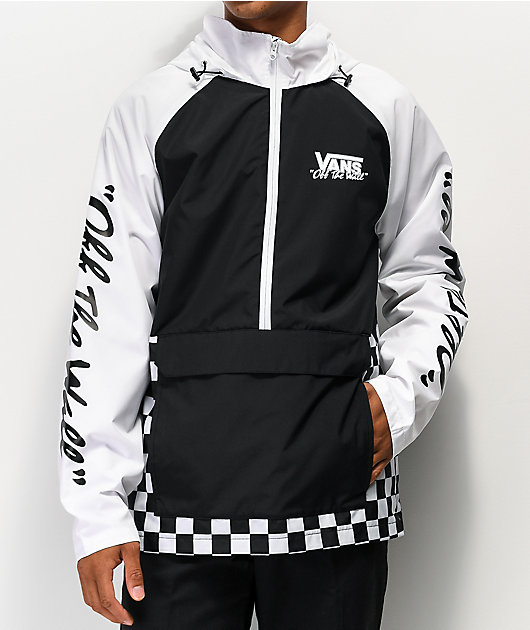 Vans BMX Off The Wall Black & White Anorak Jacket