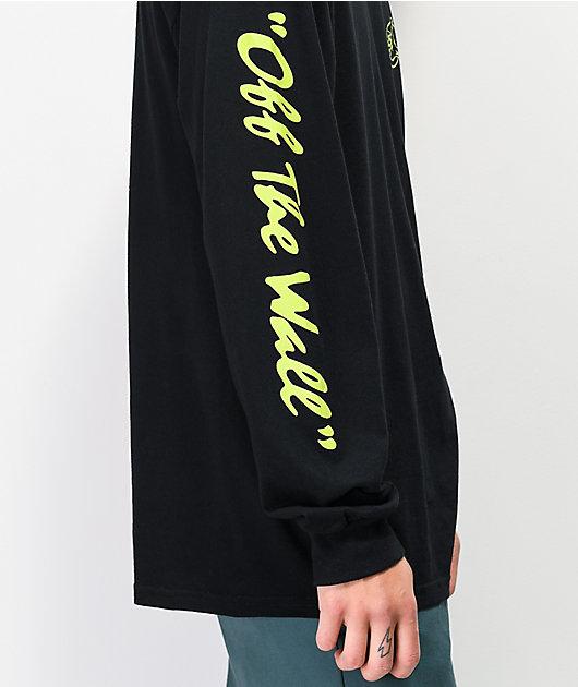 Vans BMX Off The Wall camiseta negra de manga larga
