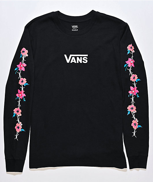 Vans Barbeesha Black Long Sleeve T-Shirt