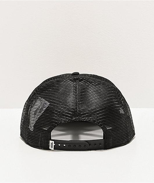 Vans Beach Holiday Black Trucker Hat