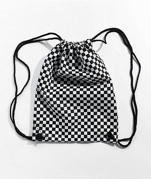 Vans Benched Checkerboard Cinch Backpack