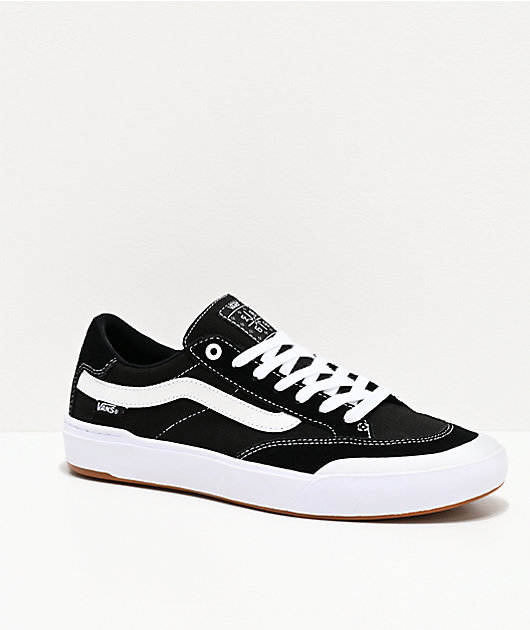 Vans Berle Pro Black \u0026 True White Skate