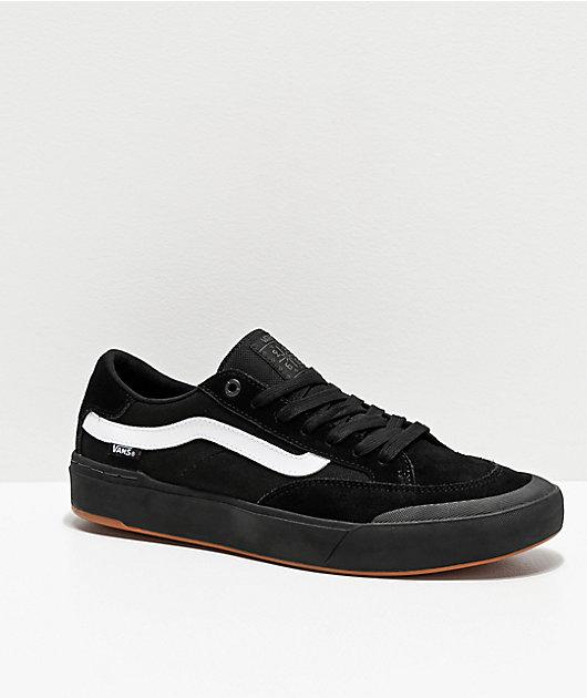 Vans Berle Pro Black Skate Shoes | Zumiez