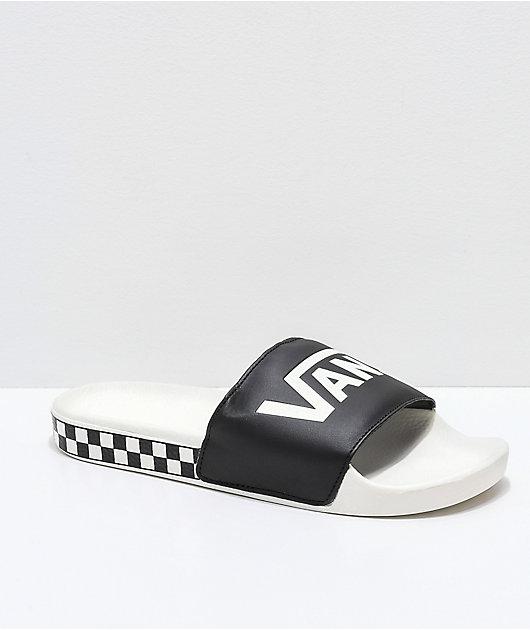 Vans Black \u0026 Marshmallow Checkerboard