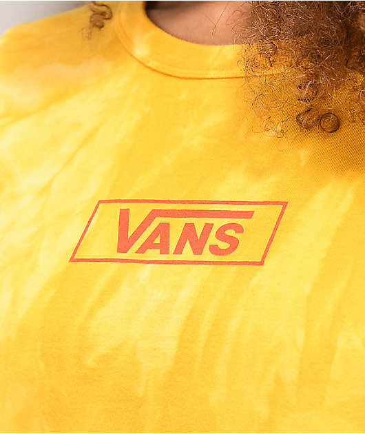 Vans Boxed Wash Mango Tie Dye T-Shirt