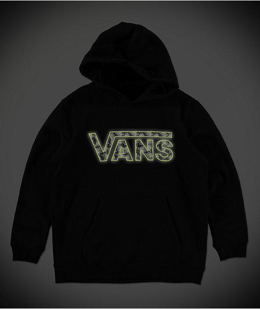 Vans Boys Classic II Black Hoodie