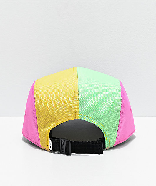 Vans Camper Colorblock 5 Panel Strapback Hat