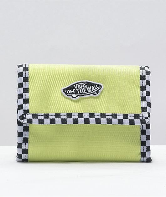 Vans Cash Flow Yellow Trifold Wallet