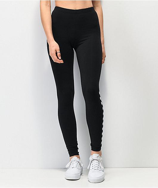Vans Chalkboard leggings negros y blancos