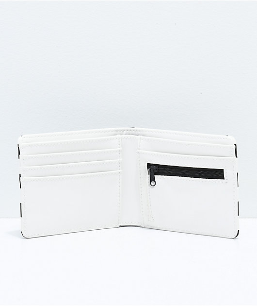 Vans Checkered Black & White Bifold Wallet