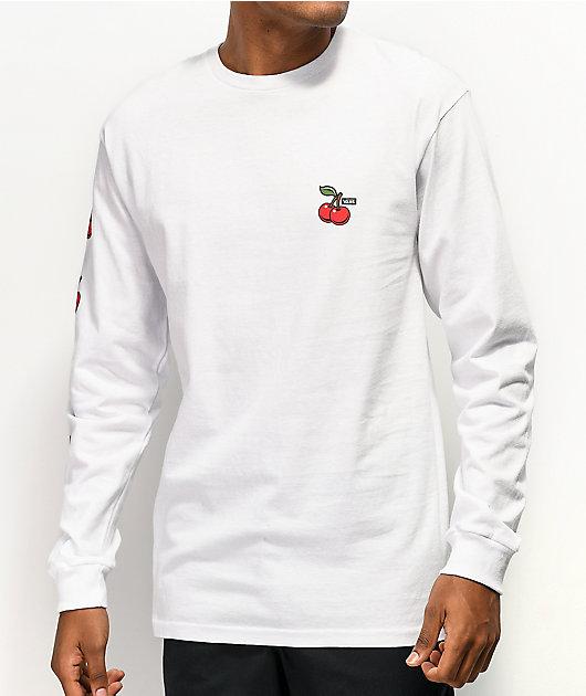 Vans Cherries camiseta blanca