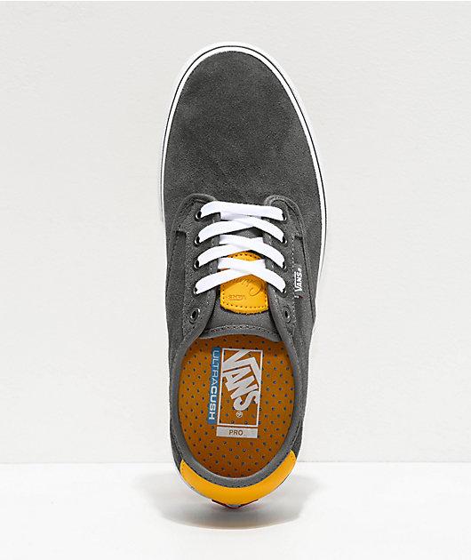 Vans Chima Pro Pewter & Mango Mojito Skate Shoes