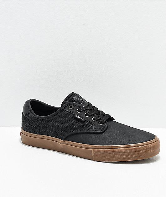 Vans Chima Pro X-Tuff zapatos de skate en negro y goma