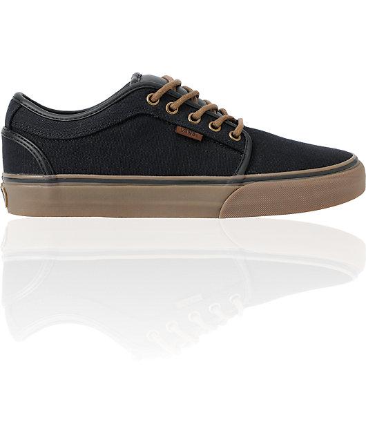Vans Chukka Low Black, Gum \u0026 Flannel