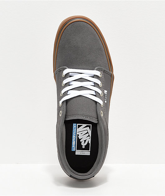 Vans Chukka Low Pewter & Gum Skate Shoes