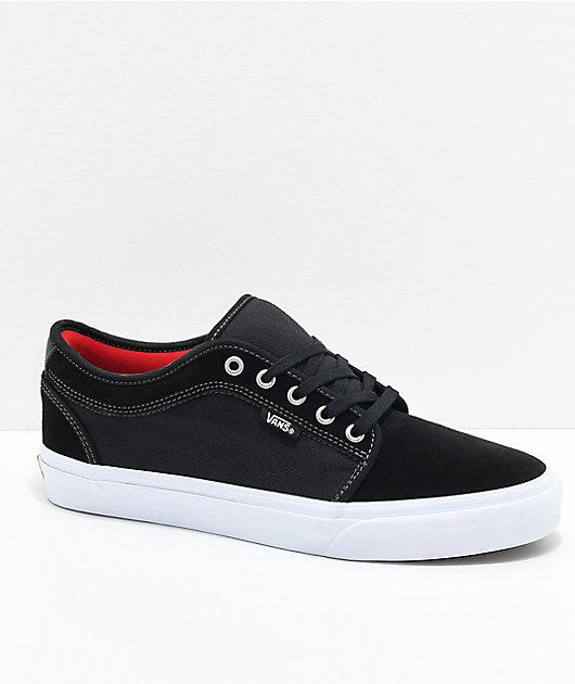 Vans Chukka Low Pro Black, White