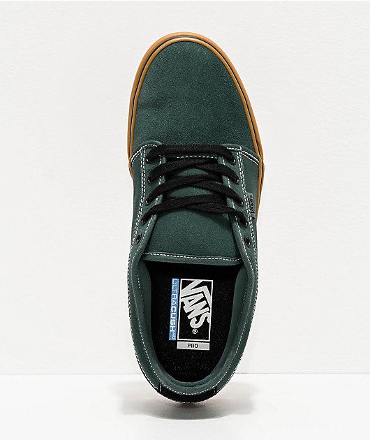 vans chukka low green