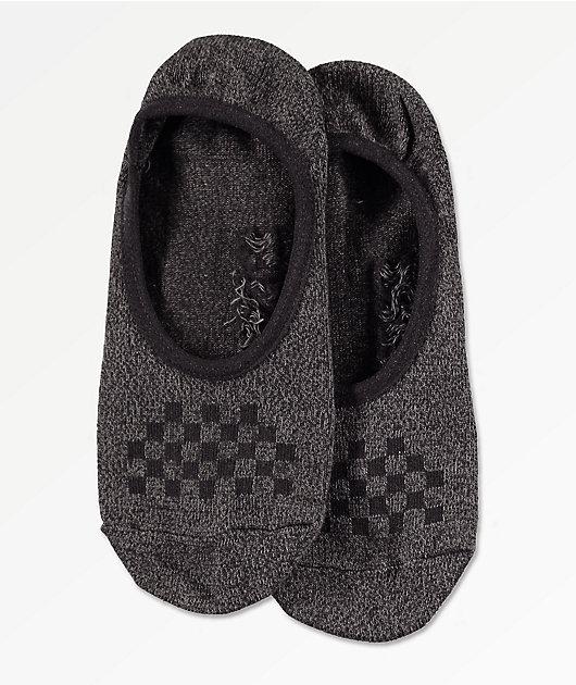 Vans Classic Canoodle paquete de 3 calcetines negros invisibles