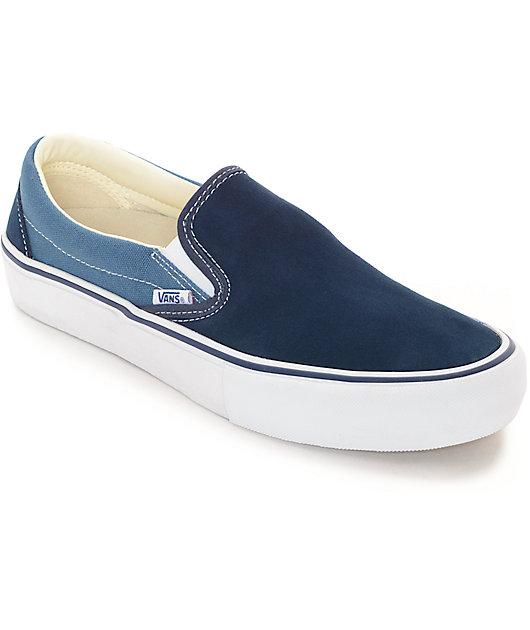 Vans Classic Slip-On Pro Navy \u0026 Blue 2