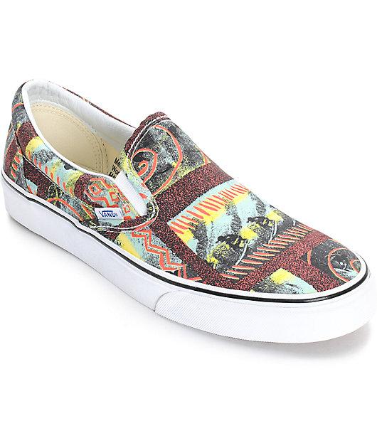 mil Impedir nombre de la marca  Vans Classic Van Doren Hoffman zapatos sin cordones (hombre) | Zumiez