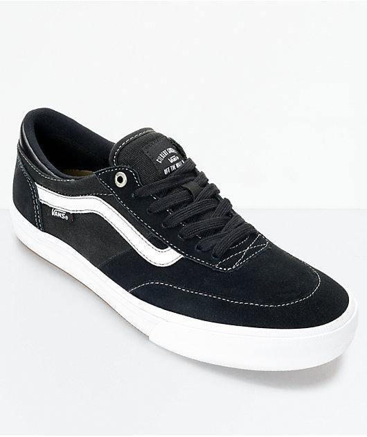 Vans Crockett 2 Black \u0026 White Shoes