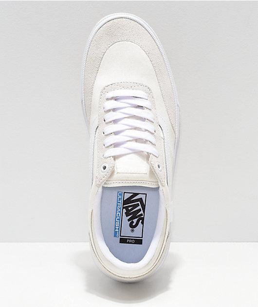 Vans Crockett 2 Marshmallow & White Skate Shoes