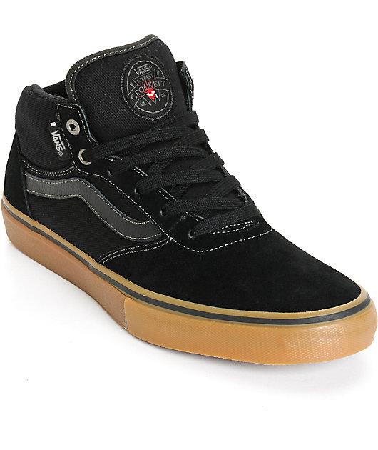 Vans Crockett Pro Mid Skate Shoes | Zumiez