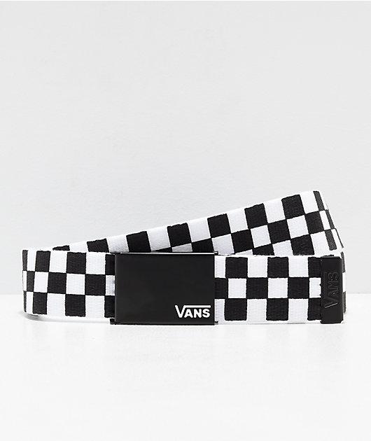 Vans Deppster Black & White Web Belt