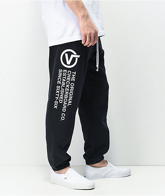 Vans Distort Type jogger pantalones deportivos negros