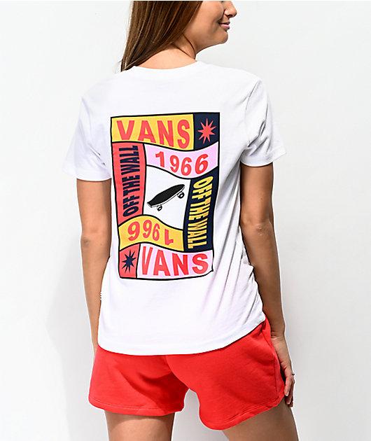 Vans Embraced camiseta blanca