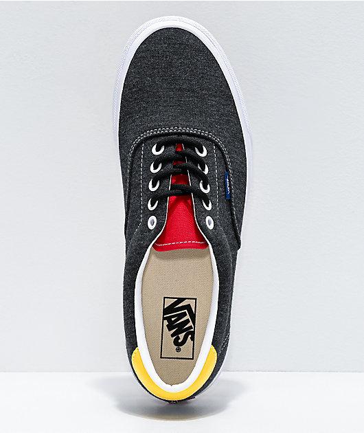 Vans Era 59 Coastal Black & White Skate Shoes