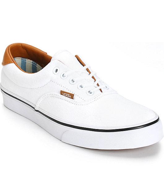 Vans Era 59 Washed C\u0026L Skate Shoes   Zumiez