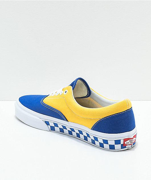 Vans Era BMX Blue, Yellow \u0026 White