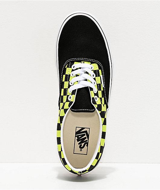 Vans Era BMX zapatos de skate negros y verdes