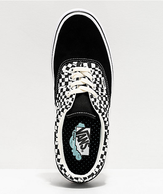 Vans Era ComfyCush Tear Black & White Skate Shoes