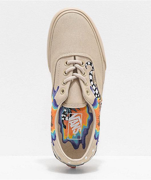 Vans Era Desert Embellished Tan Skate Shoes