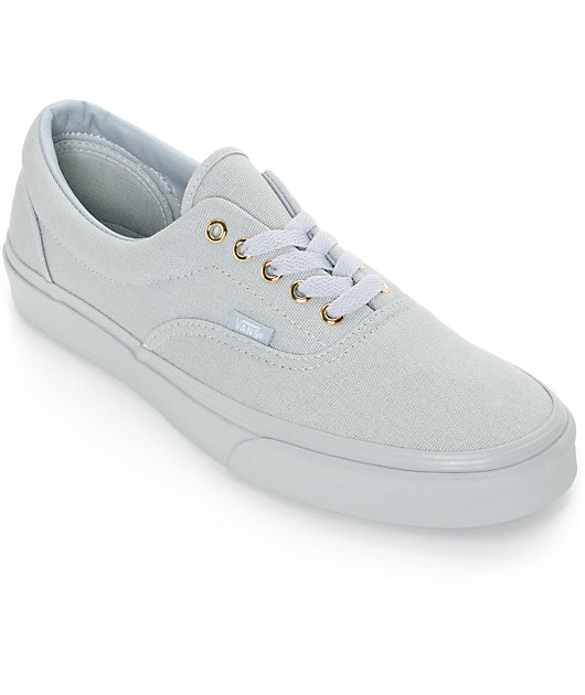 Vans Era Gold Mono High Rise Grey Skate Shoes