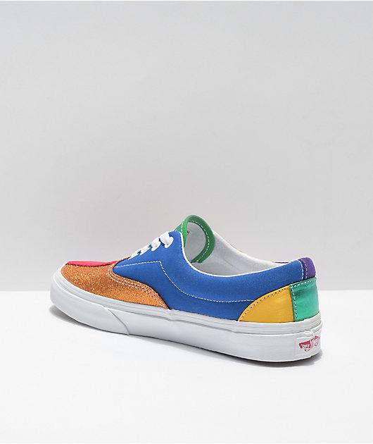 Vans Era Pride Patchwork Skate Shoes