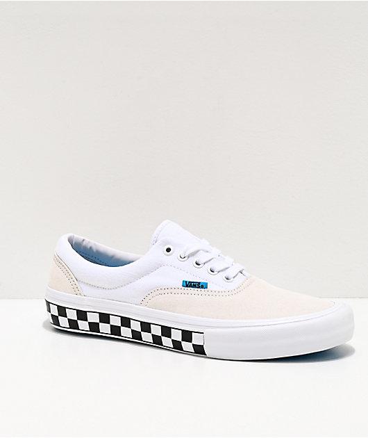 Vans Era Pro Checkerboard White \u0026 Blue