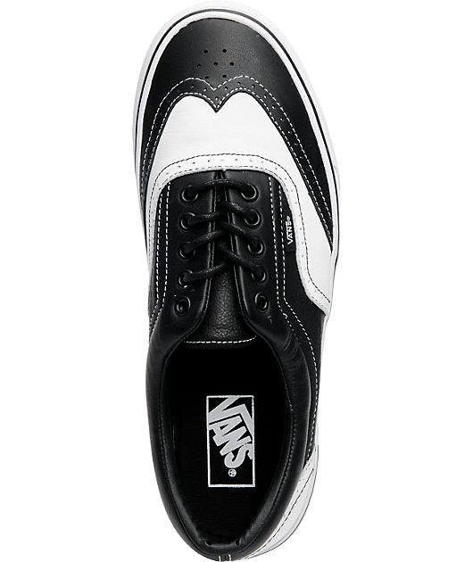 vans wingtip shoes